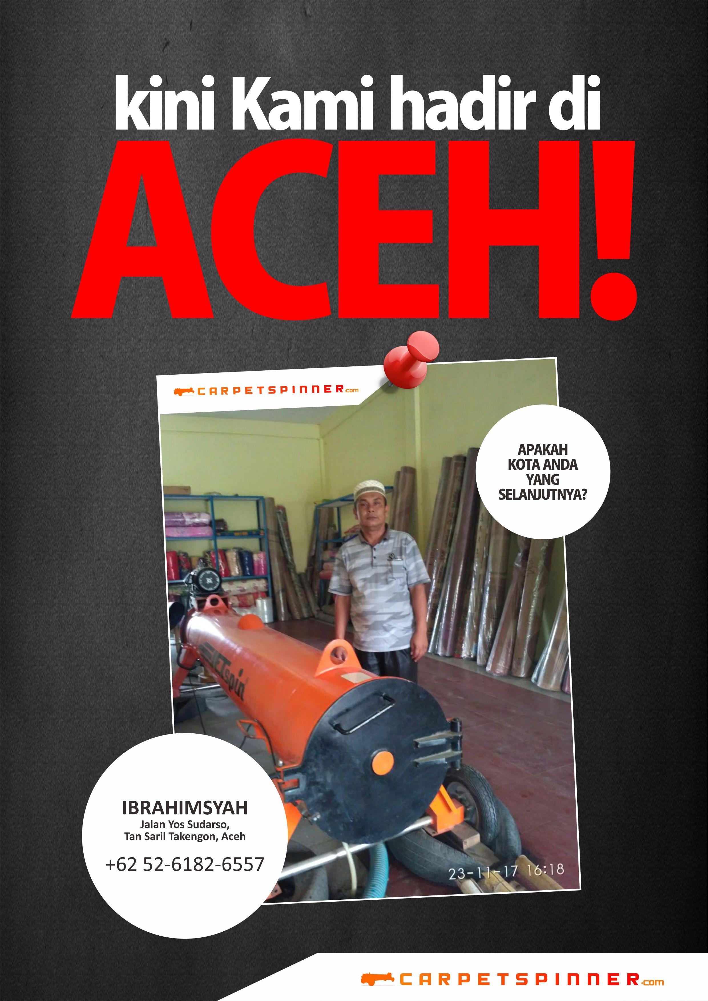 Perwakilan Resmi www.carpetspinner.com Aceh