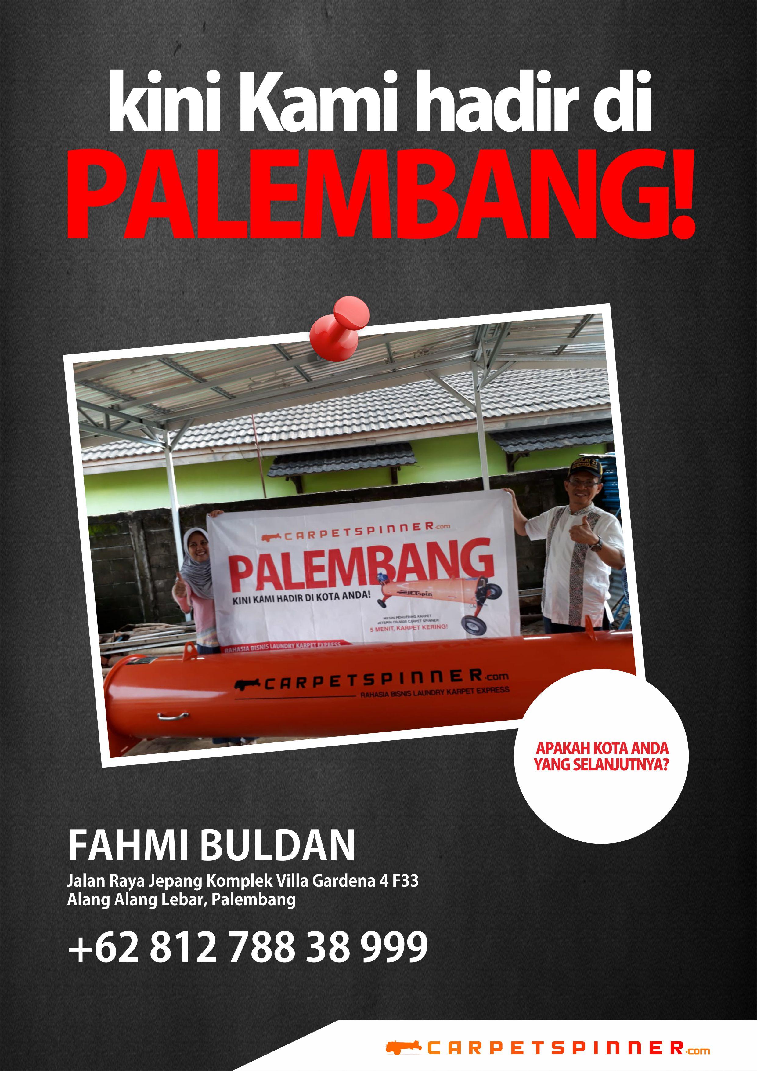 Perwakilan Resmi www.carpetspinner.com Palembang