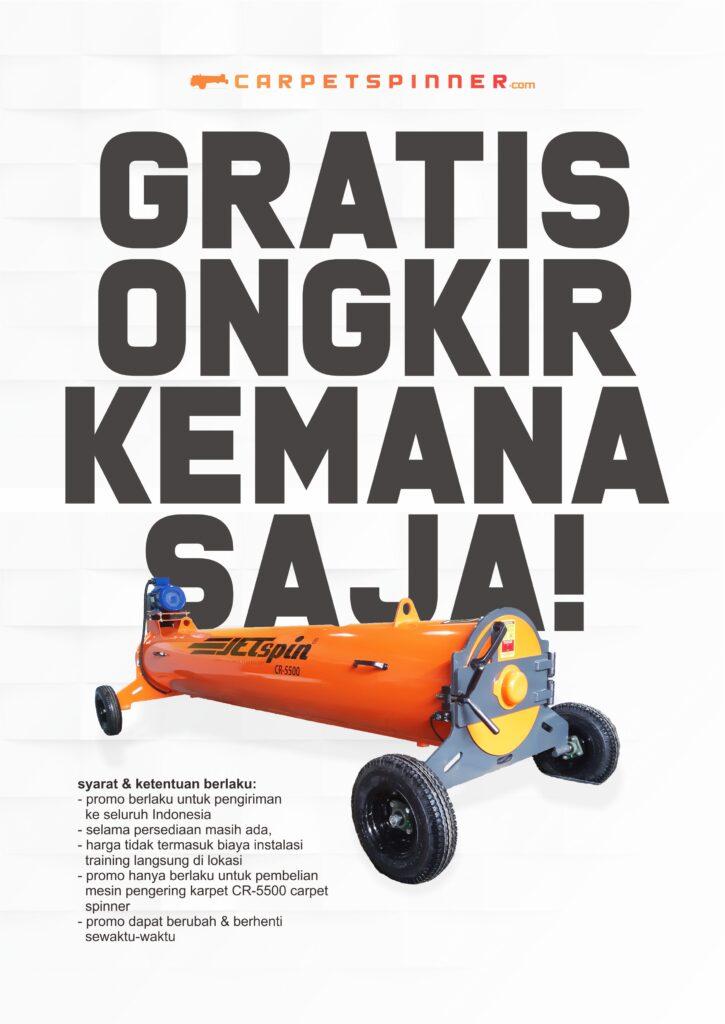Promo Gratis Ongkir Kemana Saja! - carpetspinner.com