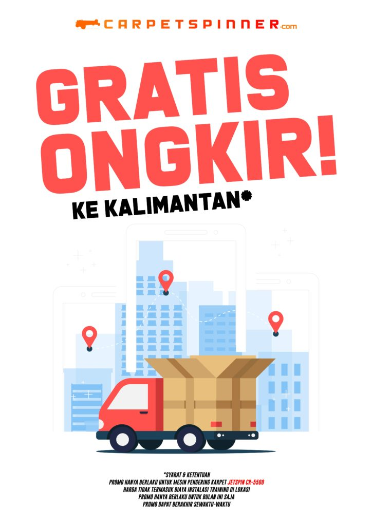 Promo Gratis Ongkir ke Kalimantan