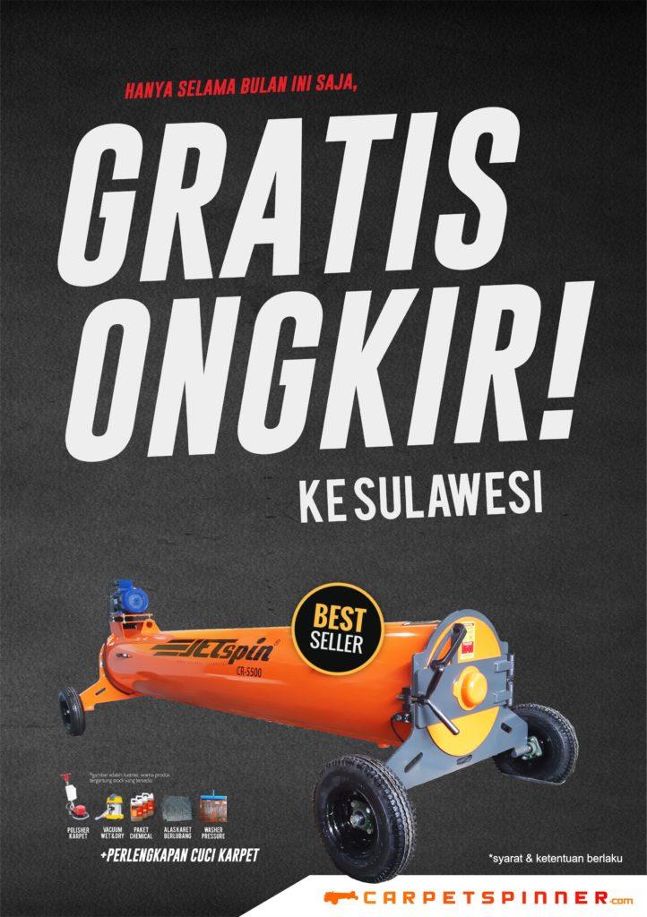 Promo Gratis Ongkir ke Sulawesi