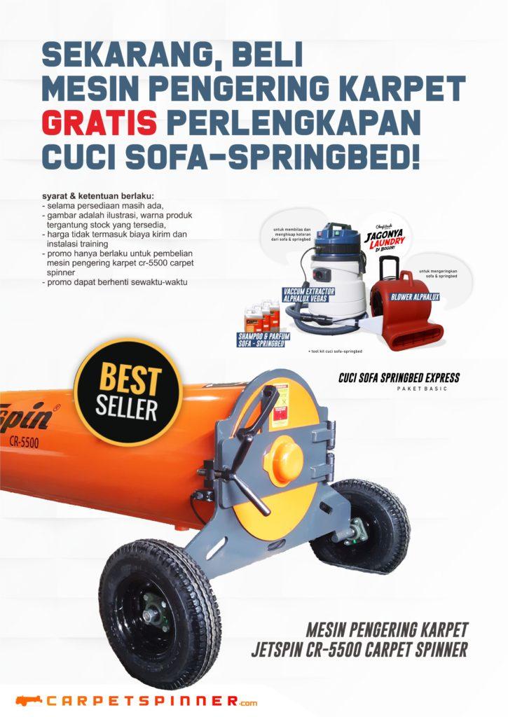 Promo Gratis Perlengkapan Cuci Sofa-Springbed - carpetspinner.com