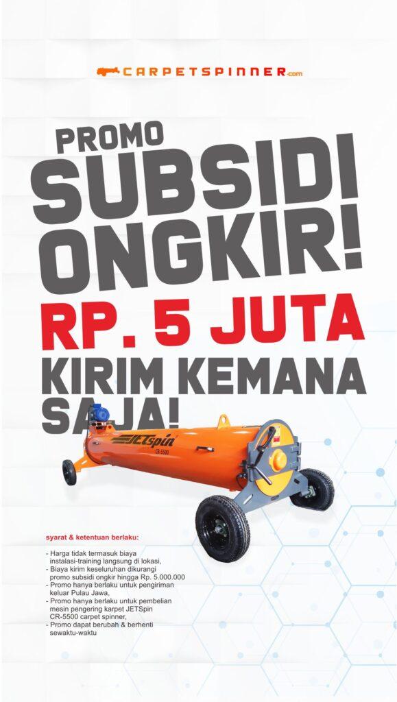 Promo Subsidi Ongkir - carpetspinner.com