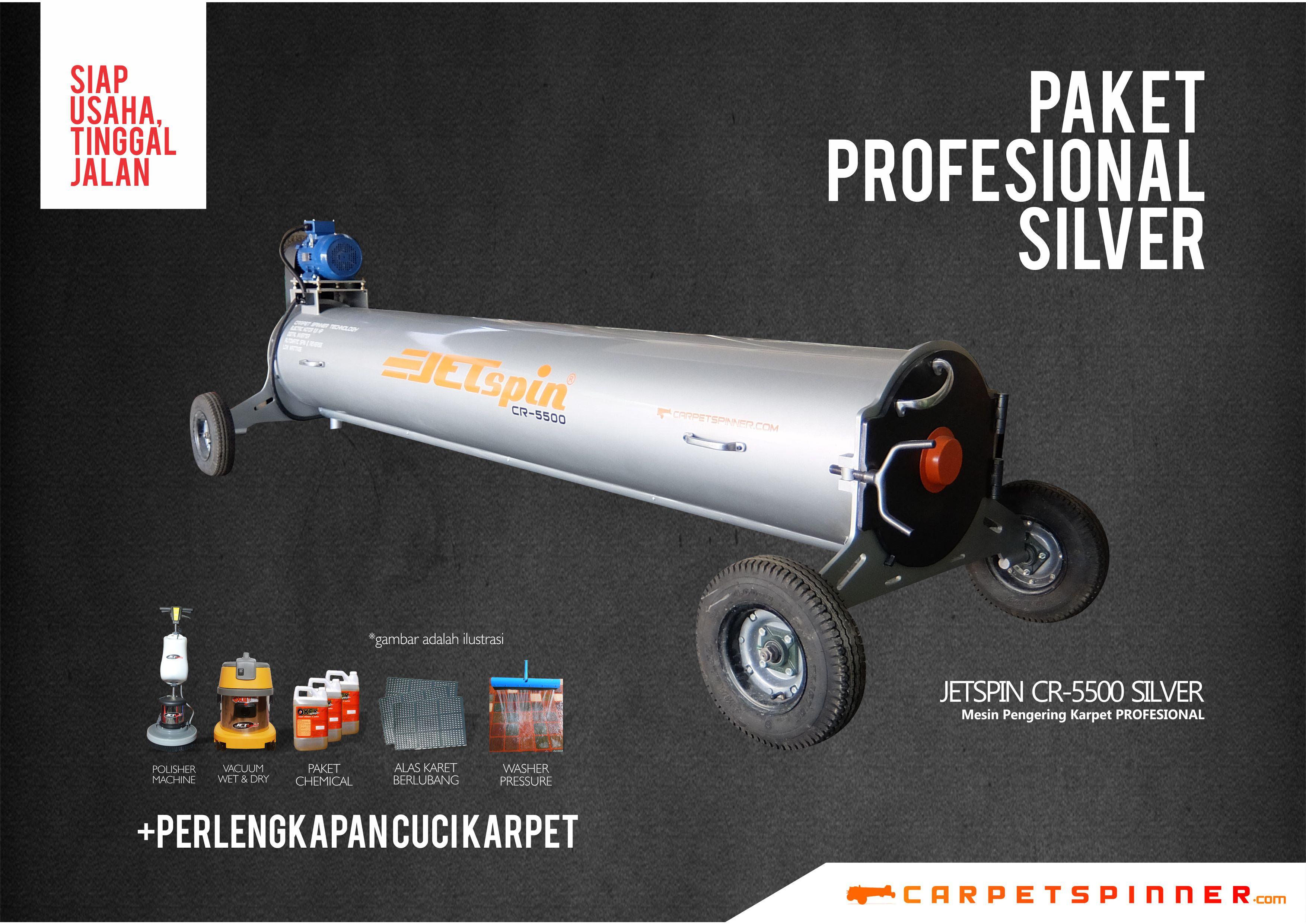 Paket Profesional Silver - www.carpetspinner.com